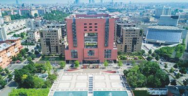 foto aerea del Campus Unimib
